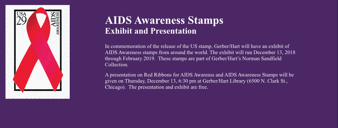 AIDS Awareness Stamps